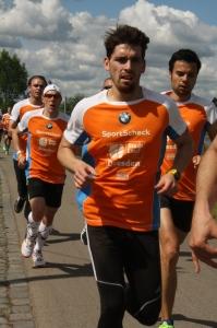 Dieses Bild zeigt Sören beim 10km SportScheck Stadtlauf Dresden