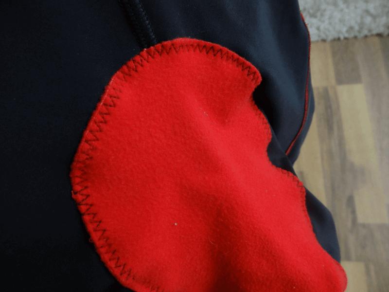 Das Sitzpolster des Fusion Front Zip Trisuit