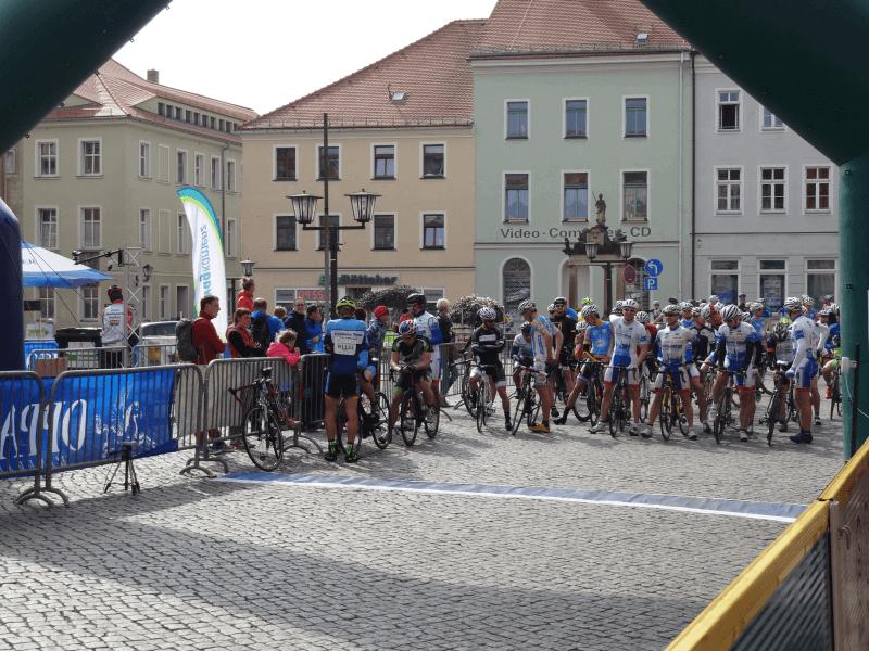 Startbereich des ersten Rennens des LausitzCups 2016