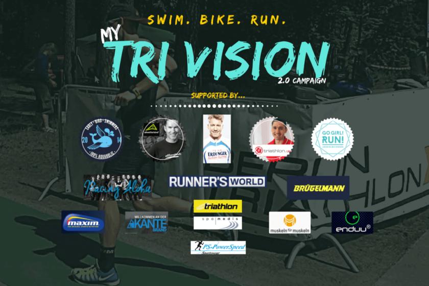 Das Titelbild zu meiner Triathlon Kampagne
